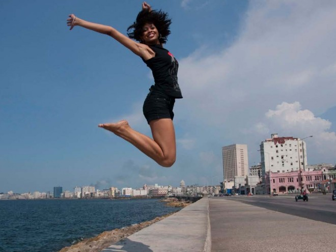 Celebrating International Women's Day in Cuba