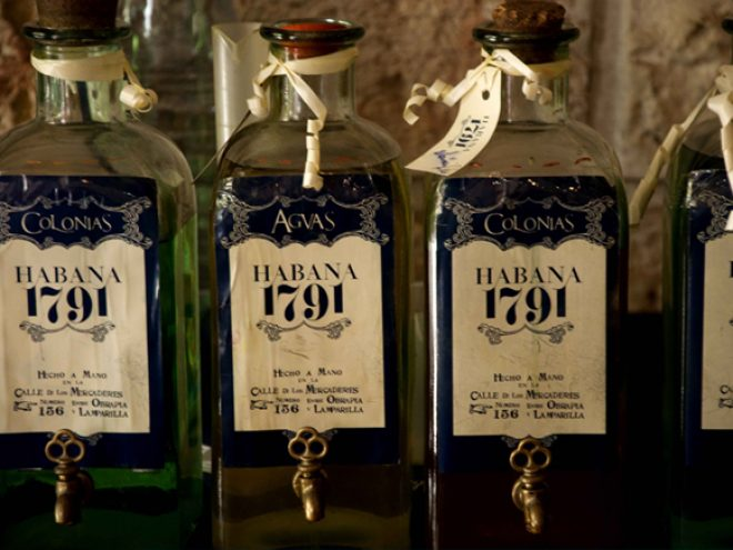 Habana 1791: The perfume shop