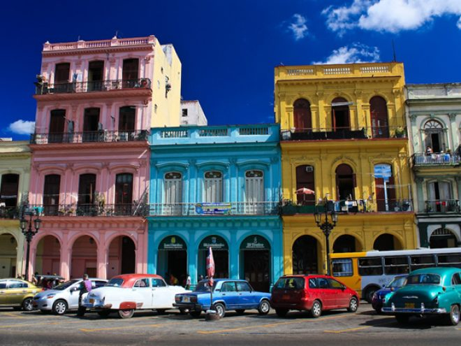Besieged by Color in Havana