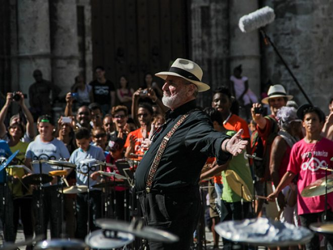 Michelangelo Pistoletto at the 12th Havana Biennial