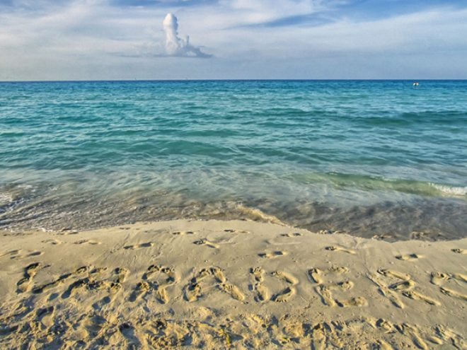 Varadero – where the sand is made of grated silver  mixed with diamond dust