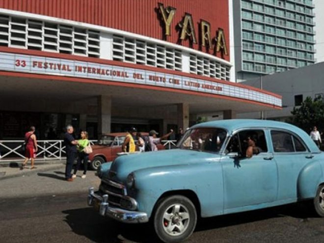 The flicks take centre stage in Havana