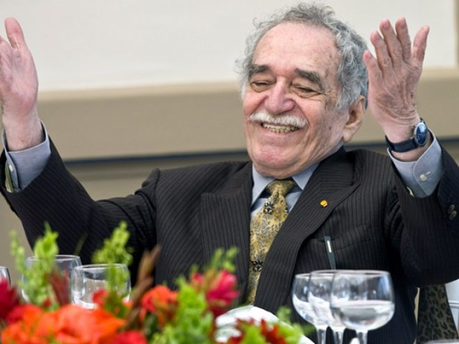 García Márquez still walks with me