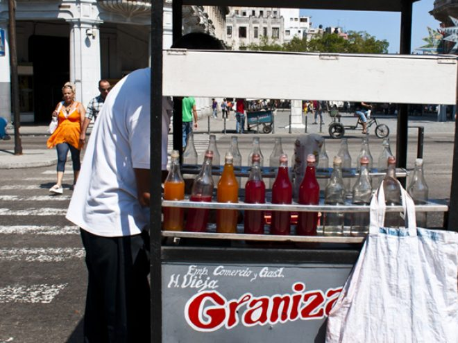 Granizado – the original Cuban slush puppie