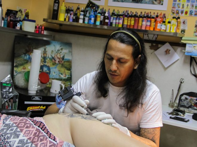 La Marca: Havana's first tattoo parlor