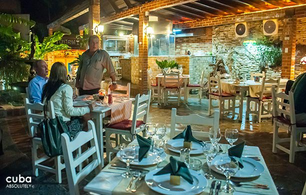 Restaurant la Fontana in Miramar© Cuba Absolutely, 2014