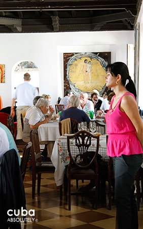 Restaurant Atelier in Vedado © Cuba Absolutely, 2014