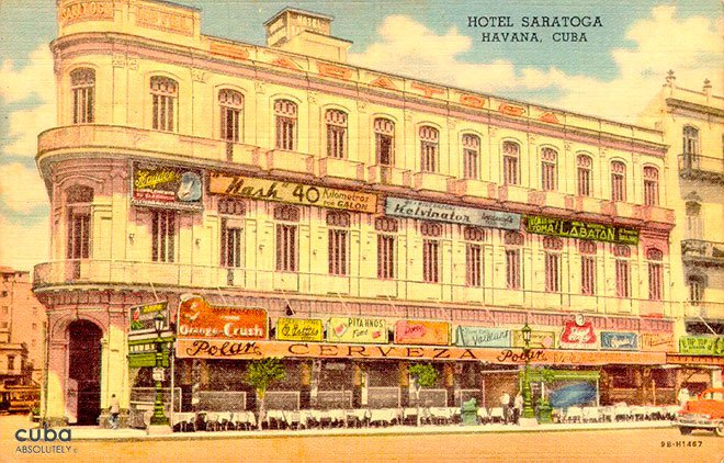 front of Saratoga Hotel © Cuba Absolutely, 2014