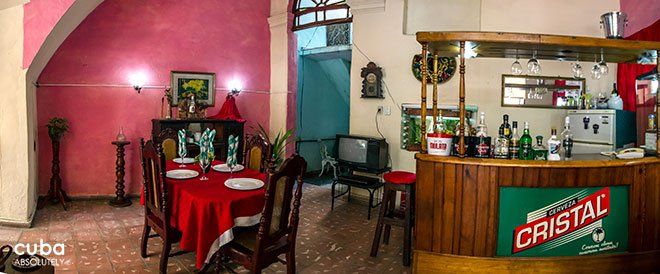 Restaurant Amistad de Lanzarote in Center havana© Cuba Absolutely, 2014