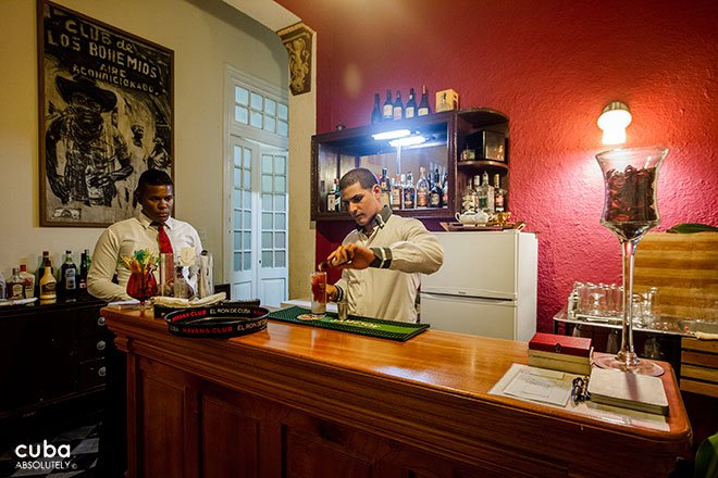 Bar Bohemio in Vedado © Cuba Absolutely, 2014