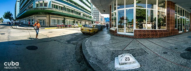 23 street in vEDADO © Cuba Absolutely, 2014