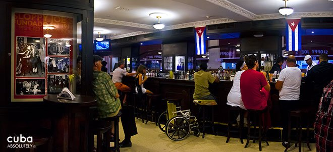 Sloppy Joe's bar in old havana© Cuba Absolutely, 2014