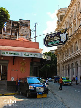 Bar Floridita in old Havana © Cuba Absolutely, 2014