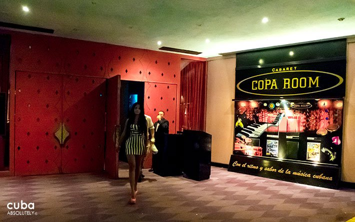 front of Copa room club in Vedado© Cuba Absolutely, 2014