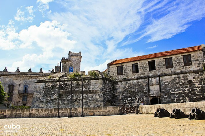 view of an old castle in old havana© Cuba Absolutely, 2014