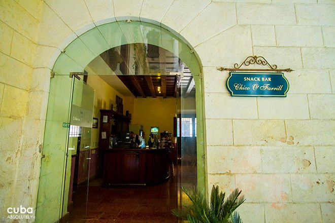 bar Chico O´Farrill entrance in old havana© Cuba Absolutely, 2014