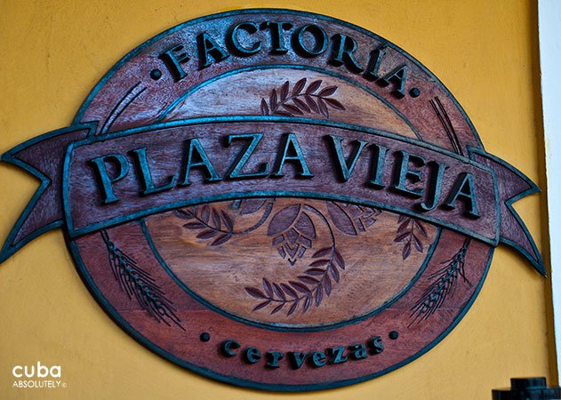 sign of Factoria Habana restaurant in old havana© Cuba Absolutely, 2014