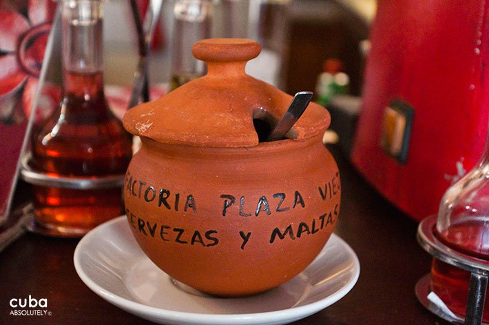 sugar bowl at Factoria Habana restaurant in od havana© Cuba Absolutely, 2014