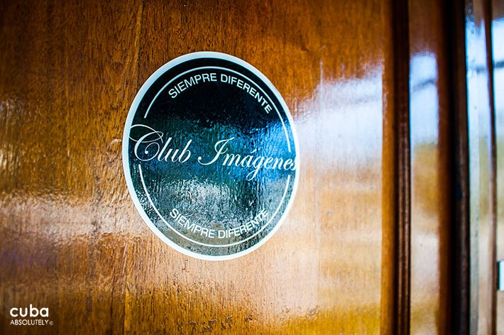 sign of Imagenes club in Vedado© Cuba Absolutely, 2014