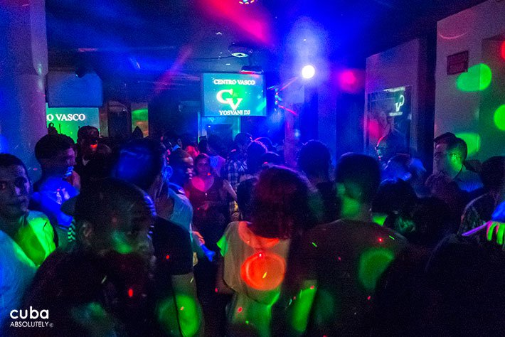 party in Centro Vasco club in Vedado© Cuba Absolutely, 2014