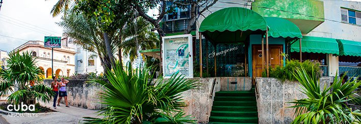 Club Imagenes in Vedado, front © Cuba Absolutely, 2014