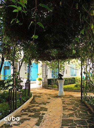 Diana de Gales garden in old havana© Cuba Absolutely, 2014