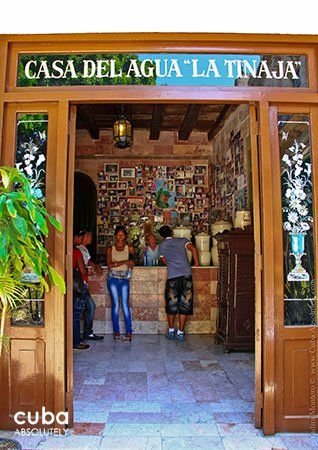 entrance of Water house in old havana in Obispo street© Cuba Absolutely, 2014