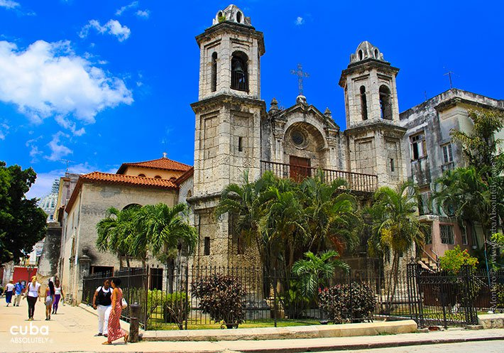 Santo Cristo church in Old Havana © Cuba Absolutely, 2014