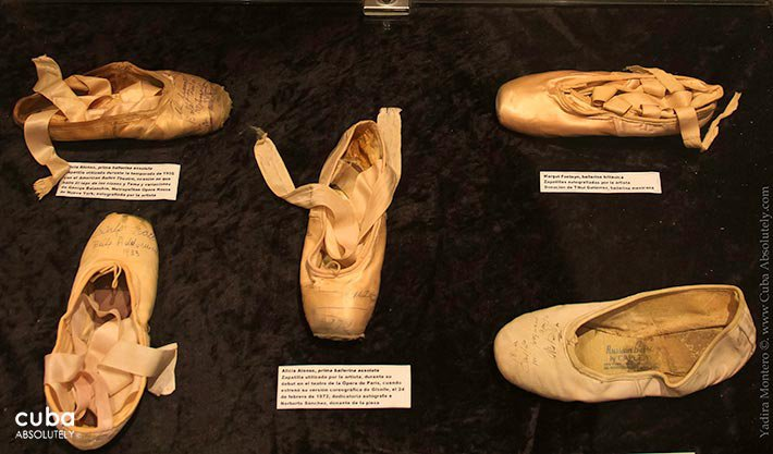 Ballet slippers at Dance museum in Vedado © Cuba Absolutely, 2014