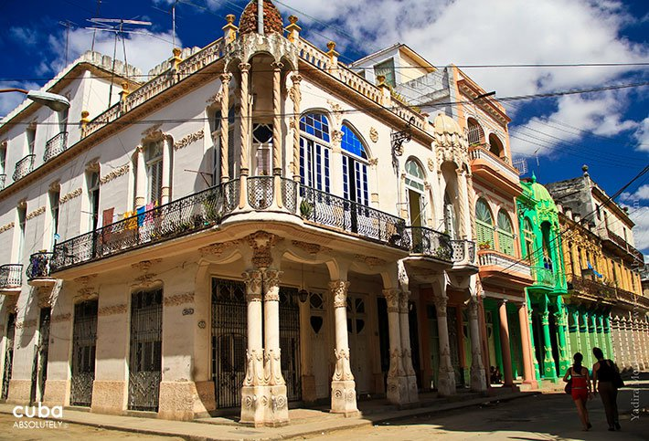 Old house with mudejar style in Cardenas street in Old havana © Cuba Absolutely, 2014