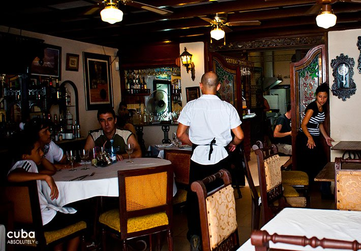 Doña Eutimia restaurant in Old Havana © Cuba Absolutely, 2014
