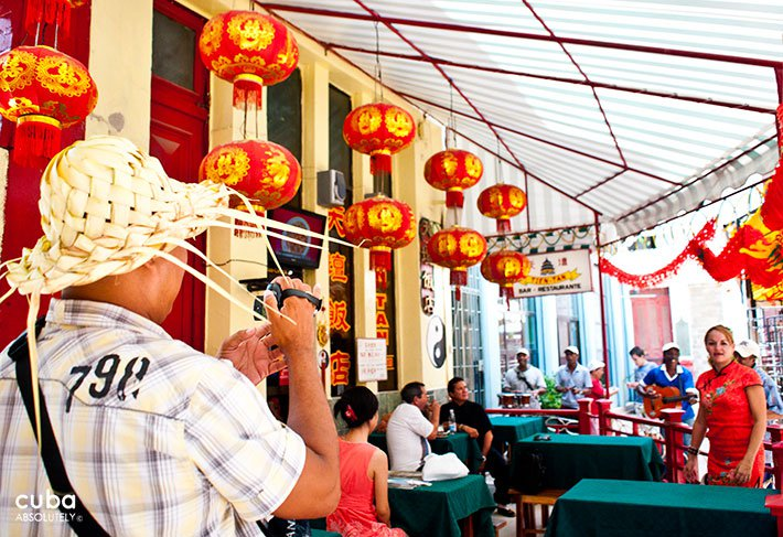 Chinese restaurant in Chinatown in Old Havana © Cuba Absolutely, 2014