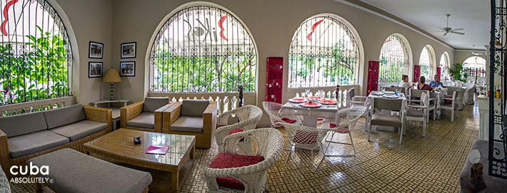 Biko´s restaurant in Vedado © Cuba Absolutely, 2014