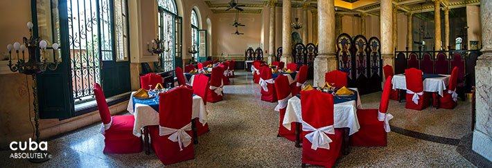 Hotel Raquel restaurant in Old Havana© Cuba Absolutely, 2014