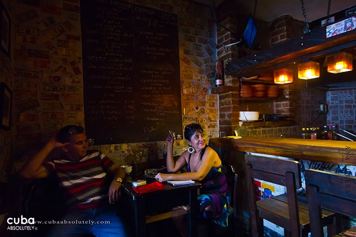 Chanchullero restaurant in Old Havana © Cuba Absolutely, 2014