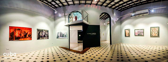 Villa Manuela art gallery in Vedado © Cuba Absolutely, 2014