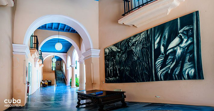 Art gallery Wilfredo Lam in Old Havana© Cuba Absolutely, 2014