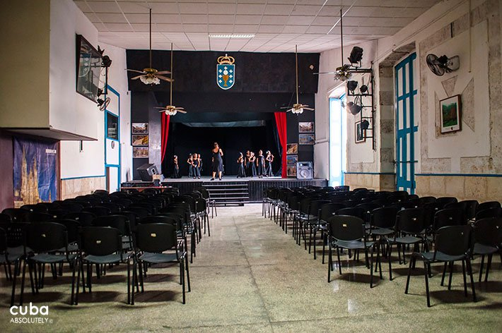 Rosalia de Castro cultural center in Old Havana, theatre © Cuba Absolutely, 2014