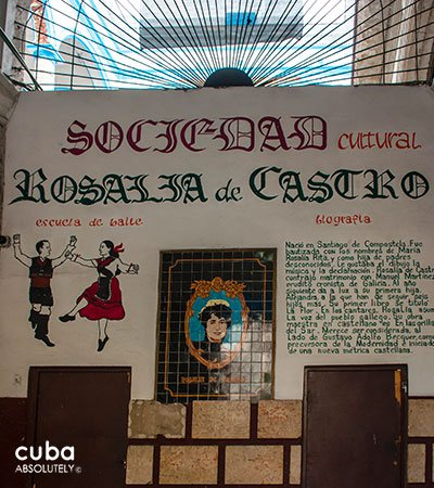 Rosalia de Castro cultural center in Old Havana© Cuba Absolutely, 2014