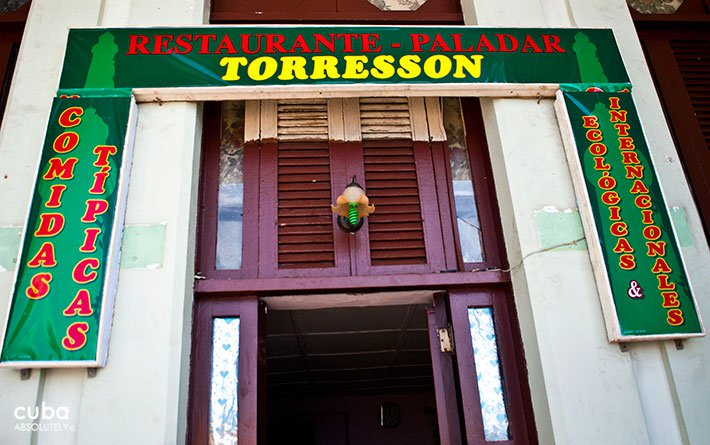 Torreson restaurant in Old Havana © Cuba Absolutely, 2014