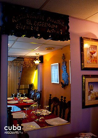 El reservado restaurant in Old Havana © Cuba Absolutely, 2014