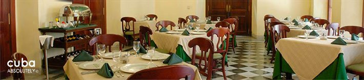 Don Ricardo restaurant in Old Havana© Cuba Absolutely, 2014