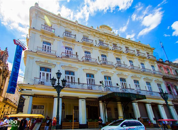 Inglaterra hotel in Old Havana © Cuba Absolutely, 2014