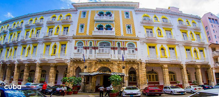 Sevilla hotel in Old Havana © Cuba Absolutely, 2014