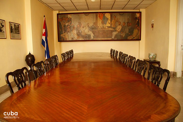 Table at Revolution museum in Old Havana © Cuba Absolutely, 2014