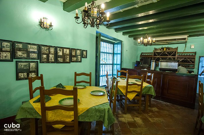 La Paella restaurant at Hostal Valencia in Old Havana © Cuba Absolutely, 2014