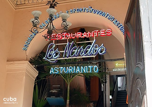 Los Nardos restaurant in Old Havana © Cuba Absolutely, 2014