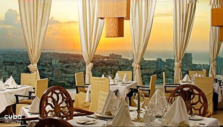 Restaurant with view of the city © Cuba Absolutely, 2014