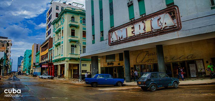 America theatre in Old Havana © Cuba Absolutely, 2014