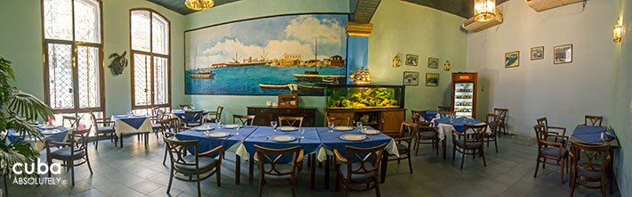 Restaurant in Old Havana © Cuba Absolutely, 2014